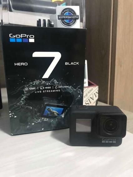 Camera Gopro Hero 7 Black Completa Com Cartão 16gb Micro Sd