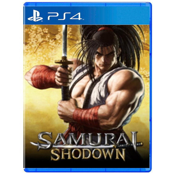 Samurai Shodown - Mídia Física - Ps4 - Novo