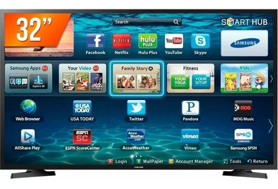 Tv Samsung Smart 32 Polegadas Led Hdmi Wifi Usb Oferta