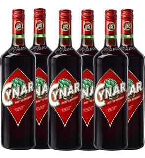 Aperitivo Cynar 750ml 6 Botellas Pack X6 Bebidas 01almacen