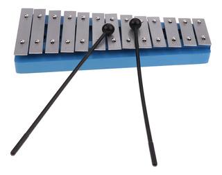 13 Teclas Xilófono De Aluminio Con Martillos Novato