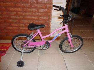 Bicicleta Para Niñas Usada V Pargoletto En Muy Buen Estado