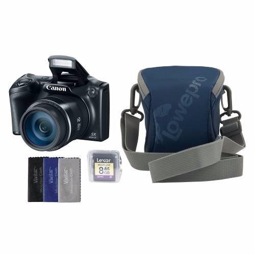 Câmera Canon De Sx400  Ls ,16 Mp  C/ Estojo, Kit Limpeza,