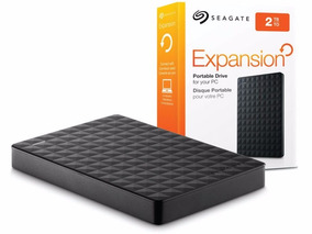 Hd Externo Seagate Expansion Portátil 2tb Usb 3.0 Preto