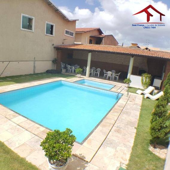 Casa Com 04 Quartos, 04 Vagas De Garagem, Próximo Ao Detran Maraponga - Ca0075