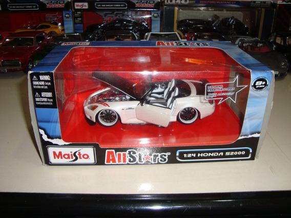 Miniatura Honda S2000 1/24 Maisto Allstars Na Caixa #6510