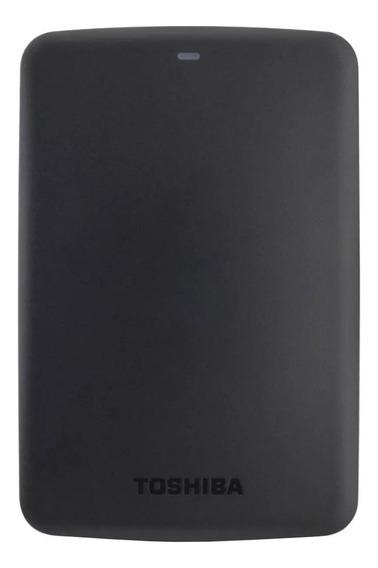 Disco rígido externo Toshiba Canvio Basics HDTB310X 1TB preto