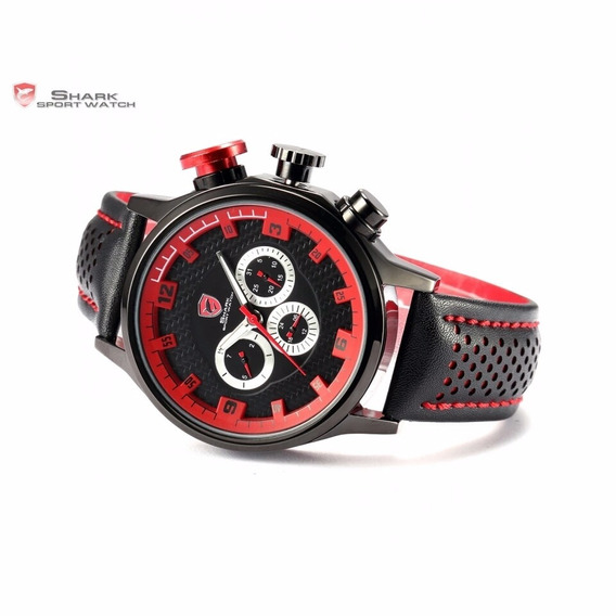 Relógio Masculino Original Shark Importado A Pronta Entrega
