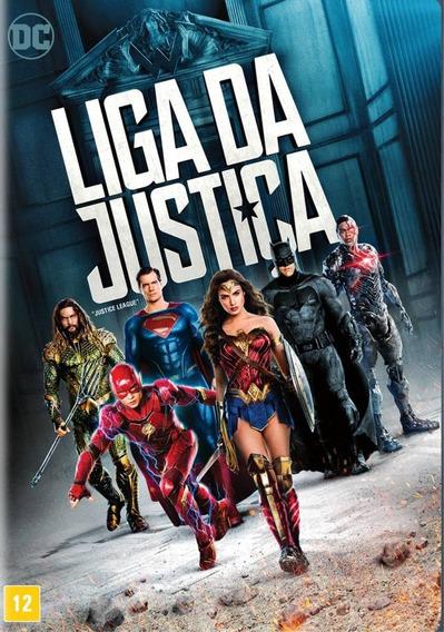 Liga Da Justiça - Dvd