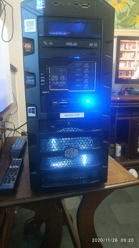 Pc Gamer Rgb-amd Fx 8350, 16gbram, Ssd256,video 8gb, Hd 3 Tb