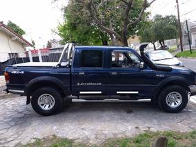 Ford Ranger 2.5 Xlt I Dc 4x4 Lim. 2000 Diesel
