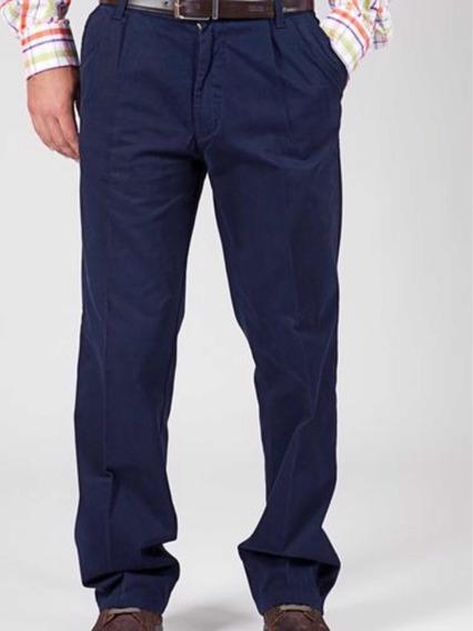 Pantalón Gabardina Kevingston Corte Pinzado Clásico Pack 3