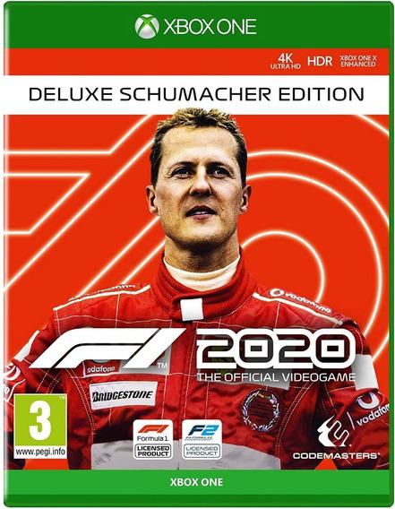 F1 2020 Deluxe Schumacher + Brinde - Xbox One - Digital