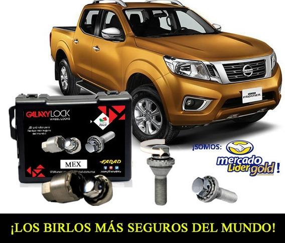 Combo Birlos Y Kit Seguridad P/llanta De Refacción Nissan Frontier 2012 - Adelante