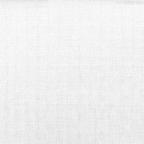 Fralda Quadriculada Cheirinho Mabber- 10 Mt Branco Azul Rosa