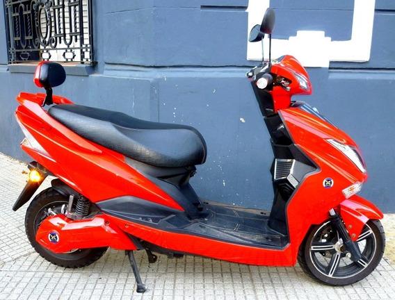Moto Eléctrica Sunra Hawk - Sin Registro Ni Patente.