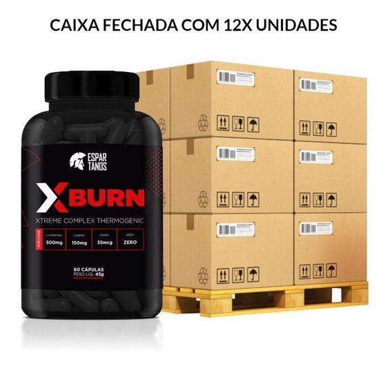 Kit 12x Termogênico X Burn Xtreme Complex 60 Cáps - Revenda