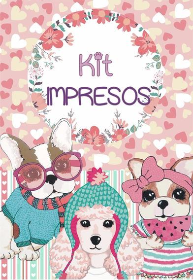 Simones Kit Impresos Personalizados P/10 Niños