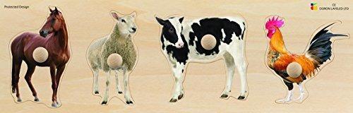 Edushape Giant Puzzle Farm Animals