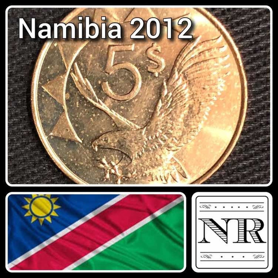 Namibia - 5 Dolares 2012 - Km # 5 - Aguila En Vuelo
