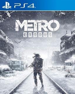 Metro Exodus Ps4 Nuevo Disponible