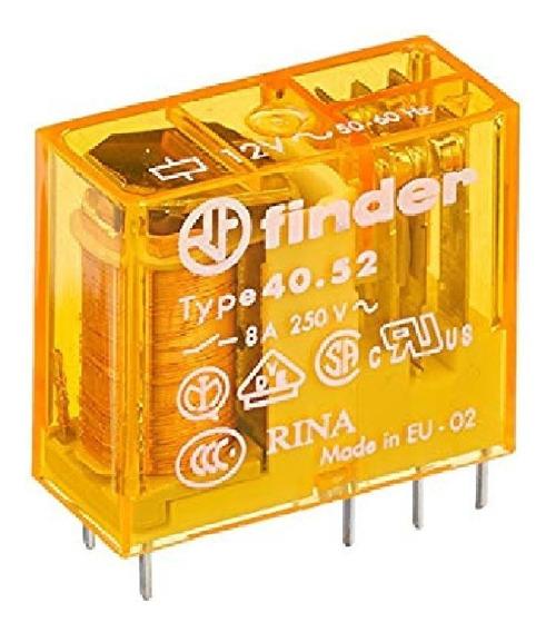 Relevador Circuito Impreso 40.52.8.120.0000 120vac Finder