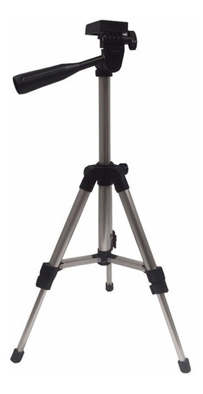 Tripe De Mesa Com Cabeça Rosca 1/4 E Nivel Aluminio Até 60cm