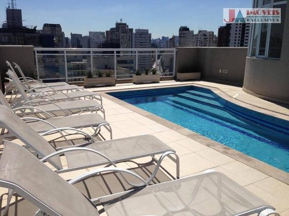 Apartamento Com 1 Dormitório À Venda, 50 M² Por R$ 745.000,00 - Vila Olímpia - São Paulo/sp - Ap2075