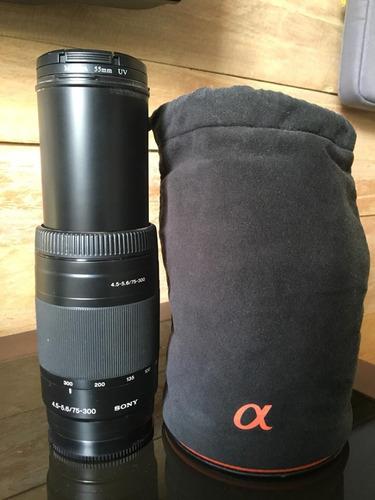 Lente Objetiva Sony A 75-300mm F4.5-5.6