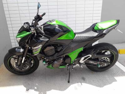Kawasaki Z800 Abs 2013 Verde Equipada