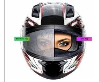 Mica Antiempañante Para Casco De Motocicleta Universal