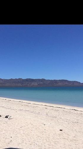 Terreno En Venta Con Frente A Playa. Bahía De La Concepción, Mulege, Bcs