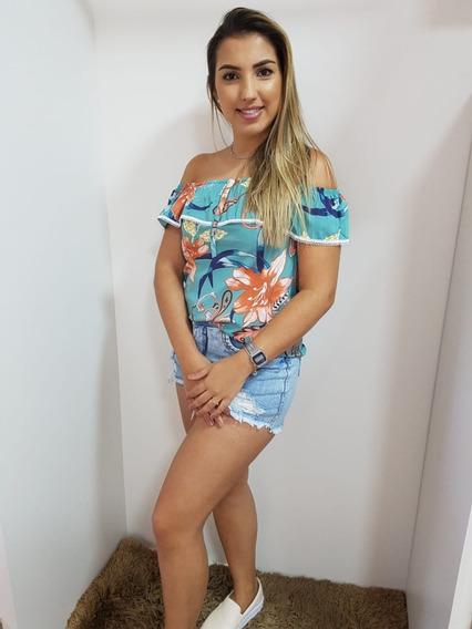Blusa Ciganinha Feminina Estampada 272