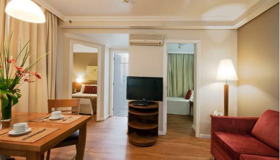 Na Rua Bela Cintra, Flat De 02 Dorms No Pool, Próximo Ao Mackenzie E Ao Shopping Frei Caneca - Sf27671