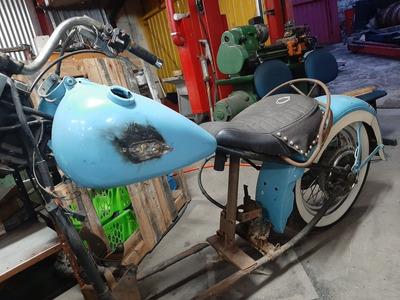 Harley-davidson Panhead 1952