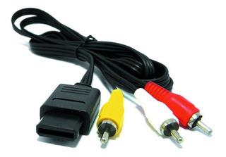 Cable Audio Video Rca Tv Super Nes Snes Nintendo 64 Gamecube
