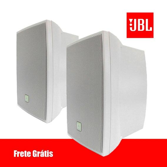 Caixa Som Ambiente C521b 40w Rms Branca Jbl Selenium Par !!