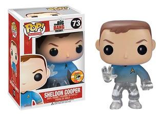 Juguete Colección Funko Pop Television Sheldon Star Trek B ®