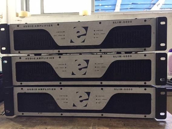 Chego A R$3100 Amplificador De Potencia Etelj Slim 6000
