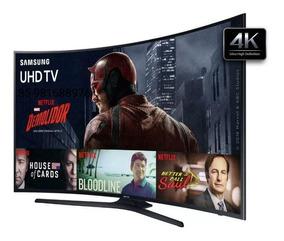Smart Tv Curva Led 4k 55 Samsung Un55ku6000, Ultra Hd, Hdmi