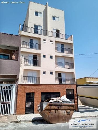 Apartamento Para Venda Em Mauá, Vila Vitoria, 1 Dormitório, 1 Banheiro, 1 Vaga - 12900_1-1653903