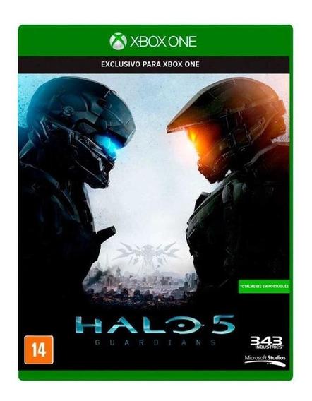 Halo 5 Guardians Xbox One Mídia Física Novo Lacrado