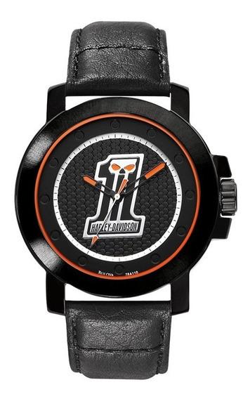 Relógio Bulova Masculino Harley Davidson Wh30046p 78a110