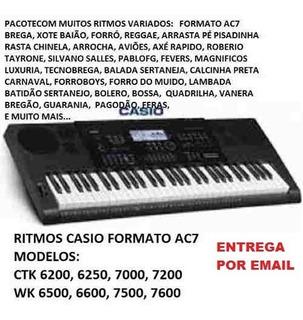 235 Ritmos Casio Ct -x5000, Mzx500 Ctk7200 E Wk, Cdp, Px, Ap