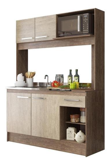 Cozinha Fosca Rustica 4 Portas Delta