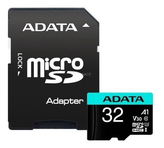 Cartão Memória Micro Sd A-data 32gb + 1 Adpt. Class 10 4k