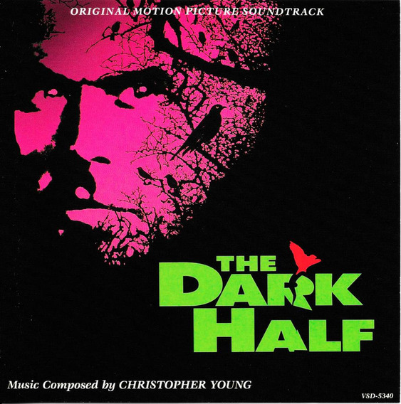 Christopher Young : The Dark Half La Mitad Siniestra Cd Bso