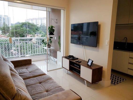 Apartamento Em Jardim Ester, São Paulo/sp De 67m² 2 Quartos À Venda Por R$ 430.000,00 - Ap269680