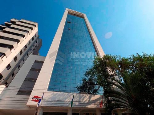 Imagem 1 de 15 de Ótima Sala Comercial No Edifício Top Class Corporate Com 02 Lavabos, Cozinha E 01 Vaga De Garagem. - 3627_1