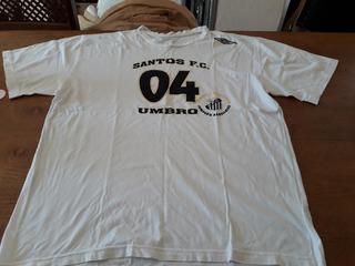 Camisa De Torcida De Futebol Do Santos